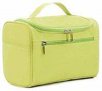 Kanha Hanging Travel Toiletry Bag Organizer Travel Toiletry Kit(Green)