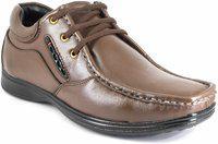 Shoebook Genuine Leather Formal Shoes For Men Brown
