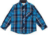 AJ DEZINES Kids Firozi Color Shirt for Boys (SH_409_FIROZI_1)
