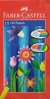 FABER-CASTELL 15 Oil Pastels (Pack of 2)(Multicolor)