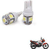 Auto Addict Indicator Light, Parking Light, License Plate Light, Side Marker LED for Hero(Splendor iSmart, Pack of 2)