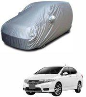 Spidy Moto Car Cover For Honda City i-Dtec (With Mirror Pockets)(Grey, For 2015, 2016, 2017, 2018 Models)