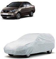 myTvs Car Cover For Tata Indigo (With Mirror Pockets)(Silver)