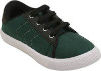 Dchica Boys Lace Sneakers(Green)