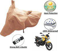 Autyle Two Wheeler Cover for Hero(Passion Pro, Pink)