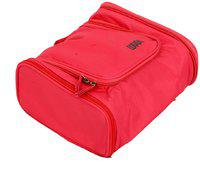 KUBER INDUSTRIES Waterproof Travel Bag Beauty Make Up Toiletry Wash Bag Zipper Cosmetic Case Organiser Party, Picnic Easy Carrying-KI3290 Travel Toiletry Kit(Pink)