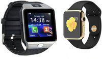 OPILL new stylish smartwatch for combo Smartwatch(Gold, Silver Strap, FREE SIZE)