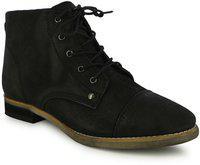 Alberto Torresi Boots For Women(Black)