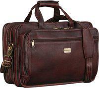 BRAND LEATHER Men Brown Messenger Bag