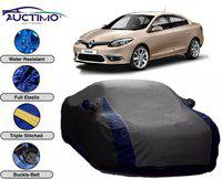 AUCTIMO Car Cover For Renault Fluence (With Mirror Pockets)(Grey, For 2019 Models)