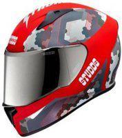 Studds THUNDER D5 (M/VISOR) Motorbike Helmet(MATT RED, N2-RED)