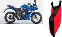 Shengshou Two Wheeler Cover for Suzuki(Gixxer SF, Red, Black)