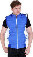 Girls Shopping Sleeveless Polyester Reversible Jacket with Hood for Men/Boys