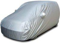 Affron Car Cover For Renault Kwid (With Mirror Pockets)(Grey)