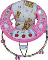 Toyzone Musical Activity Walker With Parent Rod(Pink)