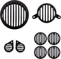 Gadget Deals Headlight, Tail Light, Parking Light, Indicator Grill Bike Headlight Grill(Black)