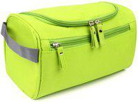 SUKHAD Toiletry Organizer Wash Bag Hanging Depp Kit Travel Toiletry Kit(Green)