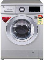 LG 8 kg 5 Star Fully Automatic Front Load with In-built Heater Silver(FHM1208ZDL.ALSQEIL)
