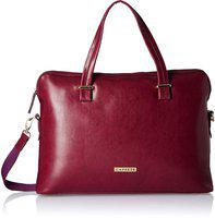 Caprese Women Maroon Messenger Bag