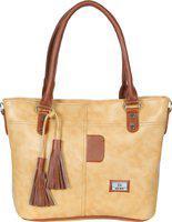 Hena Women Beige Shoulder Bag