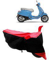 gargi traders Two Wheeler Cover for Universal For Bike(Vespa, Red)