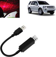 Vocado Car Roof Star Night Light Projector Atmosphere Galaxy Lamp For Freelander_SD150 Car Fancy Lights(Red)