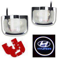 AutoRight Logo Shadow Door Light / Ghost Shadow Door Light Car Fancy Lights(Multicolor)