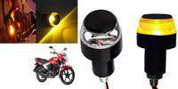SHOP4U Brake Light, Indicator Light, Side Marker LED for Yamaha(Saluto, Pack of 2)