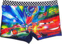 Disney Cars Boys Swim Shorts Swim Trunk Graphic Print Boys Swimsuit