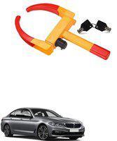 AutoSun ATZ-1495-275 Yellow Anti Theft Car Wheel Tyre Lock Clamp For BMW 500 Wheel Lock