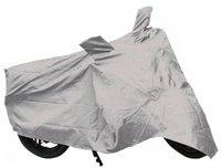 Car Mate Two Wheeler Cover for LML(Freedom, Silver)
