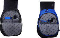 PERFECT STAR combo pack backpack bags school bags collage office backpack back black and blue 35 L 35 L Backpack(Black, Blue)