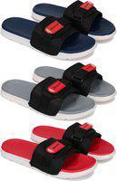 Bersache Boys Slip On Slipper Flip Flop(Multicolor)