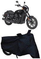 Depon Two Wheeler Cover for Harley Davidson(XL 1200, Black)