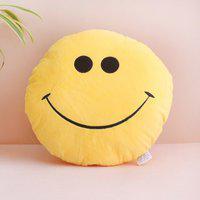 giftalove Cute Smiley Cushion - 10 cm(Yellow)