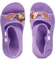 Disney Girls Sling Back Clogs(Purple)