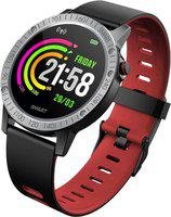Bingo smart fitness band with many features Smartwatch(Red Strap, normal)