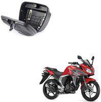 CARIZO Luggage Box Black Plastic Motorbike Saddlebag