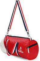LeeRooy (Expandable) SPORTS bag AND GYM BAG duffel bag Gym Bag(Red, White)