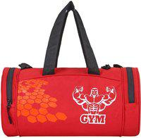 SLIZER Stylish Gym Bag For Men/Women Very Ordinary Price(RED) Gym Bag(Red)