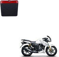 CARIZO Luggage Box Black, Red Plastic Motorbike Saddlebag