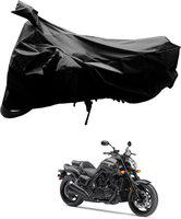 SRK SHOPPERS Two Wheeler Cover for Yamaha(VMAX, Black)