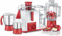 Prestige platina jmg 4118 550 W Juicer Mixer Grinder(Multicolor, 3 Jars)