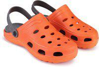 Swiggy Boys & Girls Slip-on Clogs(Orange)