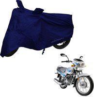 MOTOTRANCE Two Wheeler Cover for Yamaha(SZ R, Blue)
