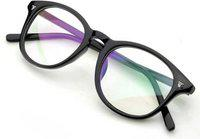 Zamaan Round Sunglasses(For Men & Women, Clear)