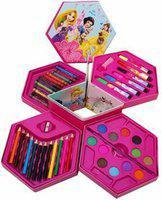 TOPUP 46 Pieces Art Set Colour Kit Colors Box Color Pencil,Crayons, Water Color, Sketch Pens Set