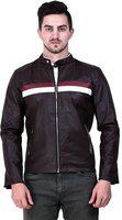 Girls Shopping Spanish Design Faux Leather Biker Jacket for Men Casual Jacket with Zipper  ,M, L & XL