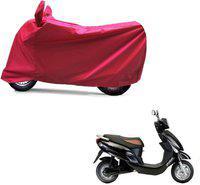 Kaaz Two Wheeler Cover for Universal For Bike(Red)