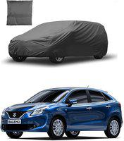 IMMUTABLE Car Cover For Maruti Suzuki Baleno (Without Mirror Pockets)(Blue, For 2015 Models)